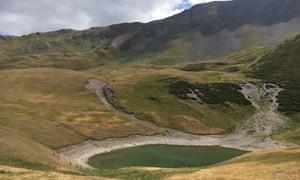 Oreti lake.