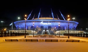 St Petersburg is set to have 50% capacity for the Euros.