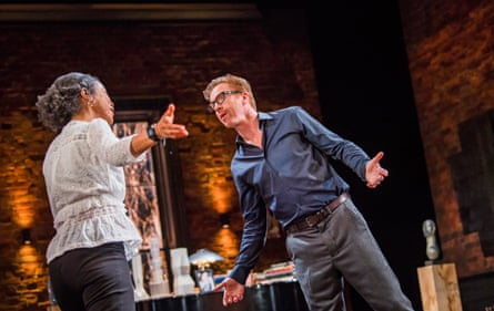As much a play about marriage as about erotic fixation … Okonedo and Lewis.