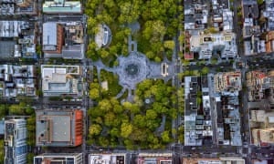Washington Square Park, which sits at the heart of the university's campus. Housing in New York is a big cost for many students.