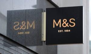 A Marks & Spencer shop