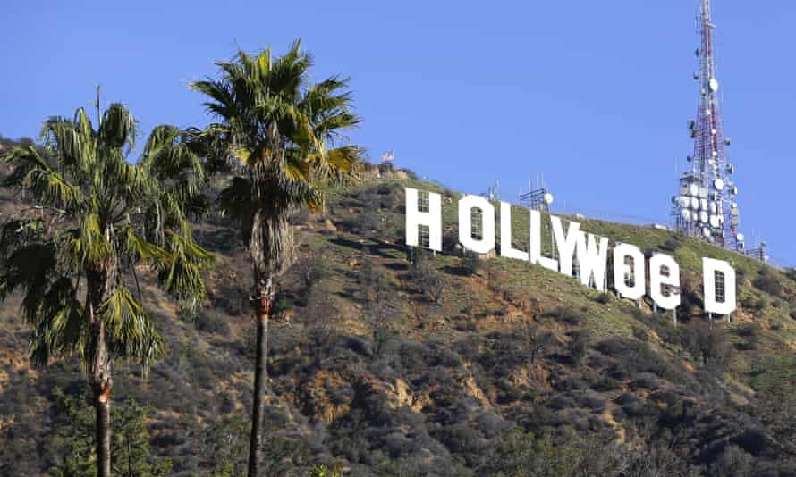 """Los Angeles residents awoke New Year's Day to find a prankster had altered the famed Hollywood sign to read """"HOLLYWeeD."""" On 1 January California became the largest state to offer legal recreational marijuana sales."""