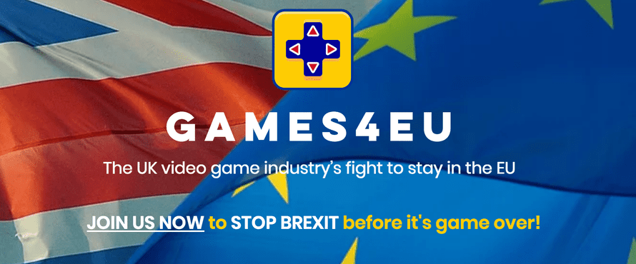 Games4EU, the UK video games industry's anti-Brexit campaign.