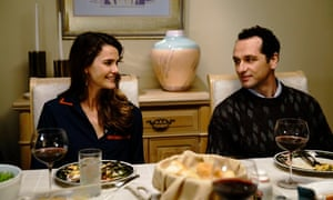 Keri Russell, left, and Matthew Rhys in The Americans.