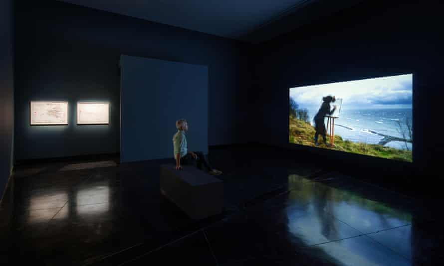 Force Majeure (2015–16) by Gabriella Hirst features at the Australian Centre for Contemporary Art.