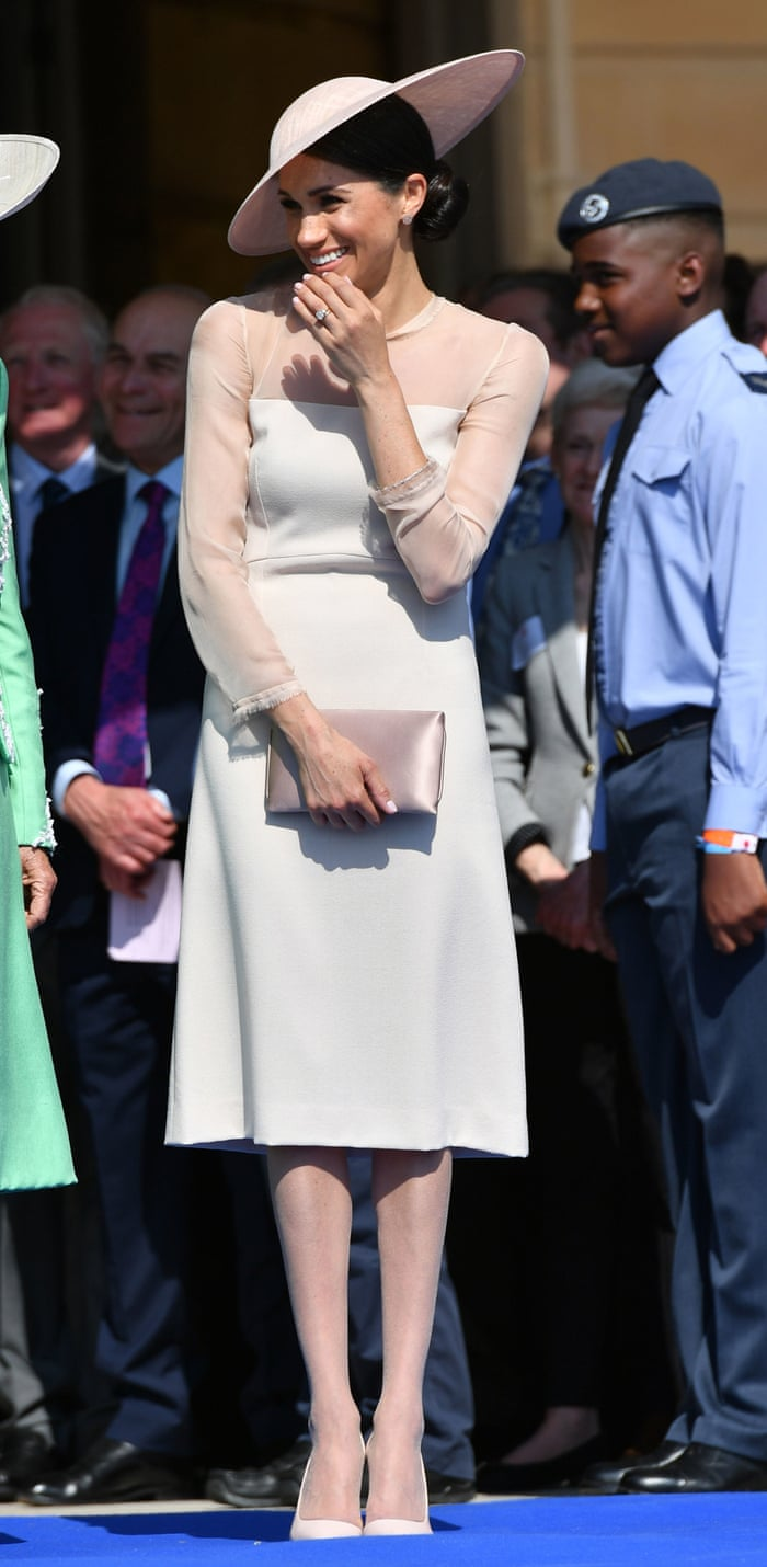 963a19a87 The meaning of beige tights  they show what the Windsors will do to Meghan