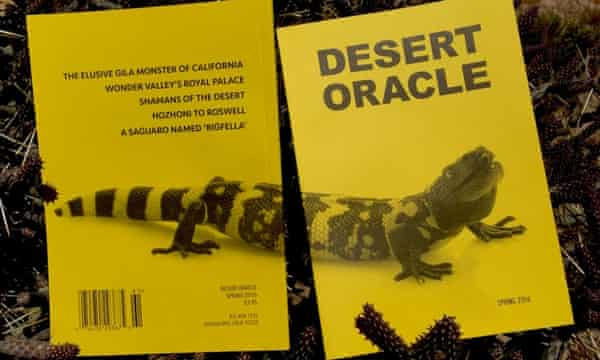The Desert Oracle cover for spring 2016.