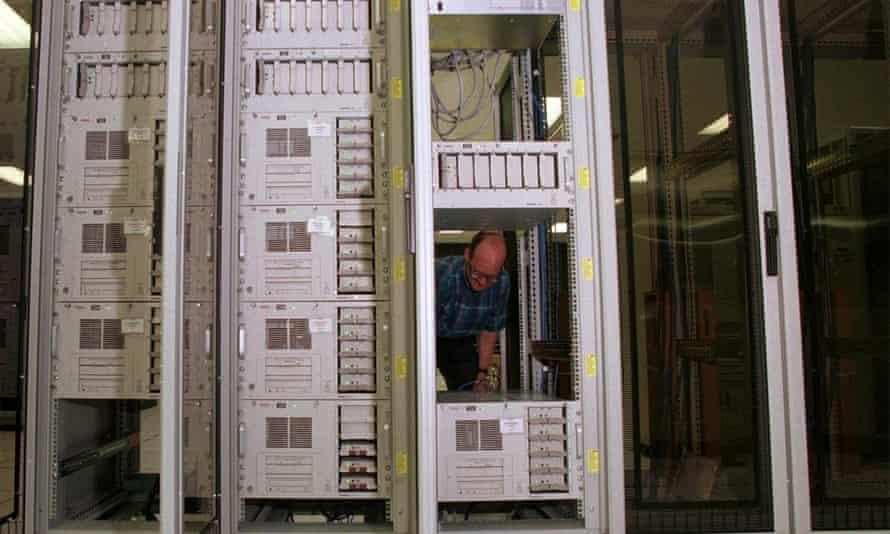 CompuServe servers