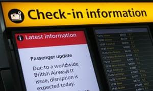 British Airways IT failure: experts doubt 'power surge' claim