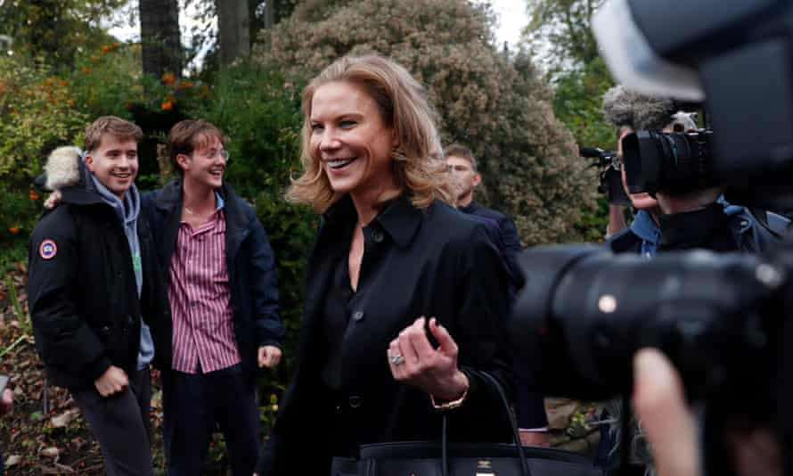 Amanda Staveley celebrates the takeover and has become a Newcastle director.