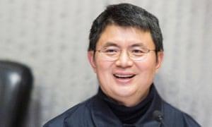 University of Hong Kong photo of Xiao Jianhua, founder of Beijing-based Tomorrow Group.