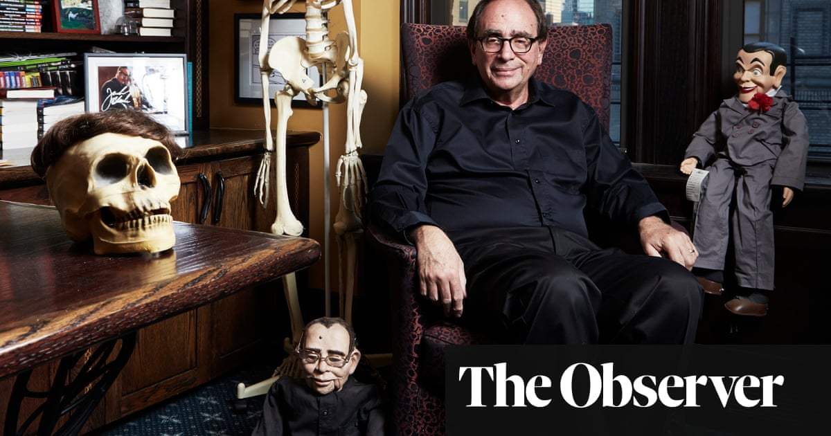 Goosebumps author RL Stine: 'The only lesson in my books is to run'
