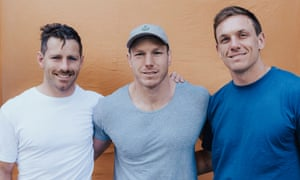 Wallabies players Bernard Foley, David Pocock and Dane Haylett-Petty