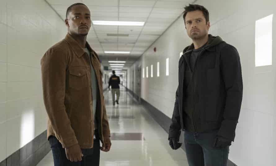 Tunnel vision ... The Falcon and the Winter Soldier.