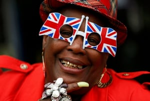 Fan Sandra Martin from Gogglebox shows her colours
