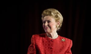 Conservative Icon Phyllis Schlafly, who died in 2016.