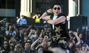 South Korean pop sensation Psy