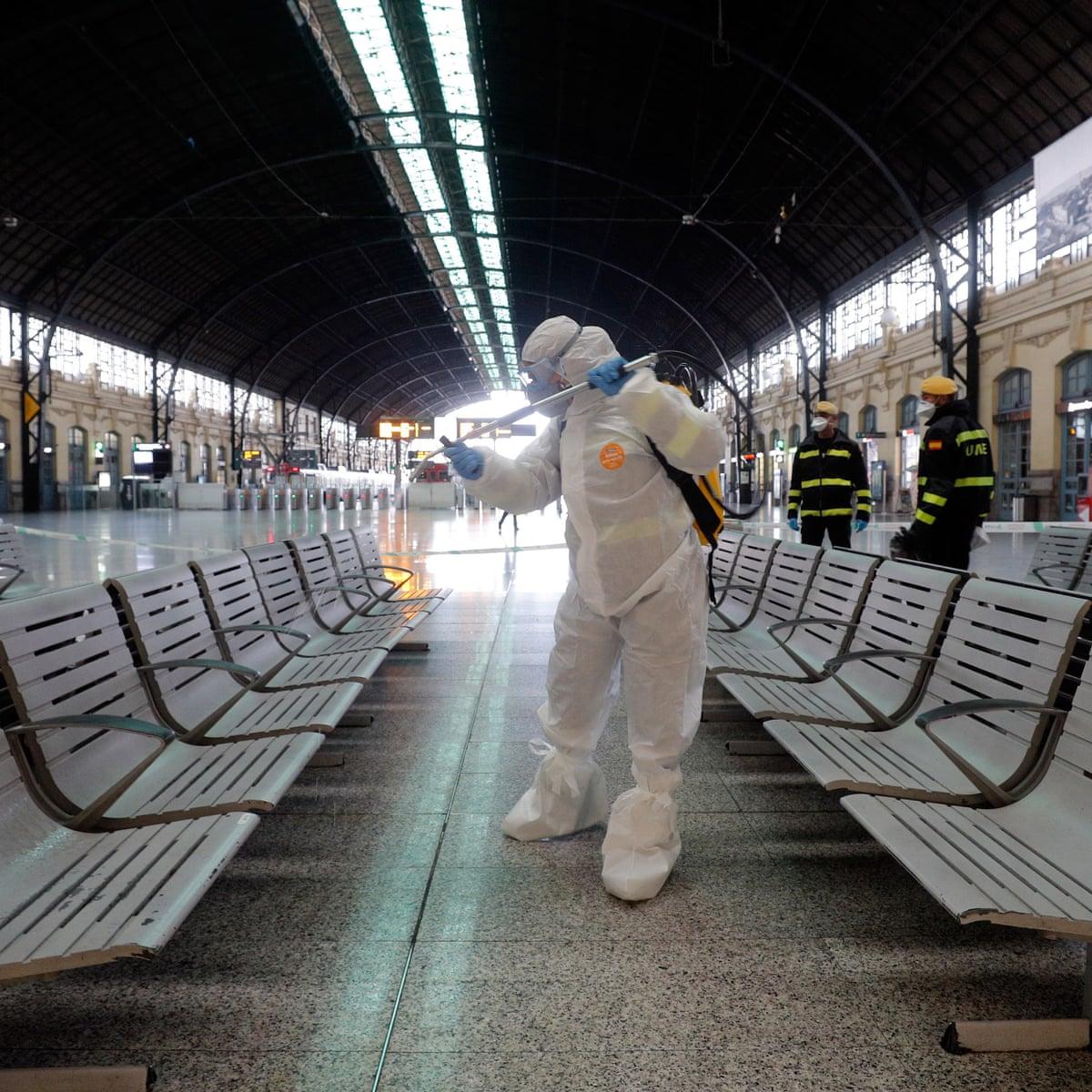 Coronavirus France Imposes Lockdown As Eu Calls For 30 Day Travel Ban Coronavirus The Guardian