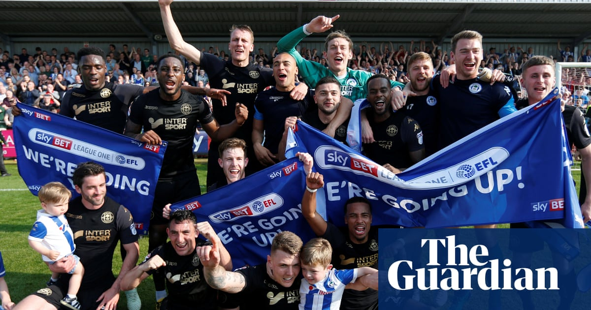 5083174f3 Wigan and Luton promoted as Macclesfield return to Football League. Wolves  seal Championship title after ...