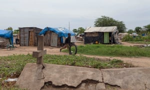 Forced to live in a cemetery: the secret shantytown for Juba's