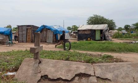 St Mary's cemetery, Juba, South Sudan