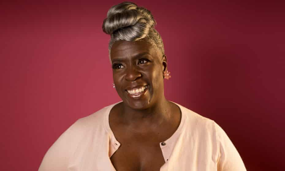 Karen Gibson, founder and director of the award-winning Kingdom Gospel Choir, photographed in Battersea, south London, on Friday.