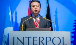 China has said Meng Hongwei has resigned as president of Interpol