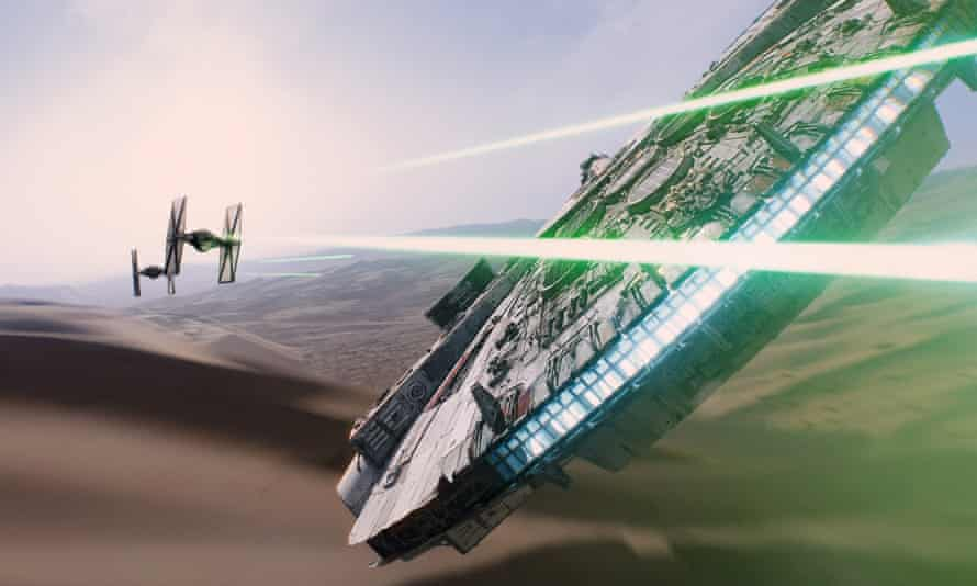 Star Wars the millennium falcon