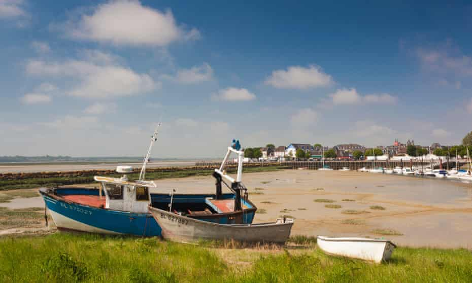 Fishing boats, Le Crotoy, Somme, France.
