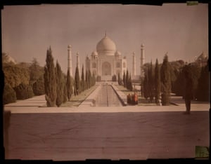 The Taj Mahal pictured in about 1914
