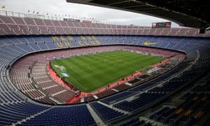 Barcelona's La Liga match