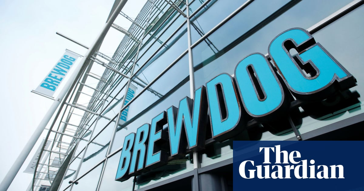 Brewdog co-founder apologises to ex-staff over 'toxic' working environment