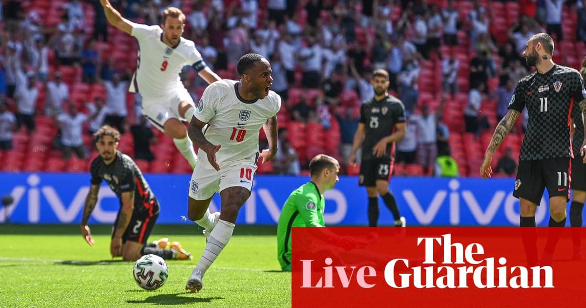 England 1-0 Croatia: Euro 2020 – as it happened