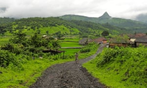 The village of Dehene in the state of Maharashtra, where Grassroutes has introduced its community-based tourism model.