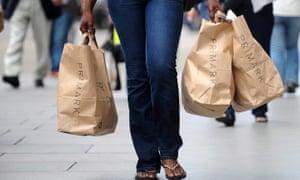 Primark's prices encourage shoppers to buy in bulk.