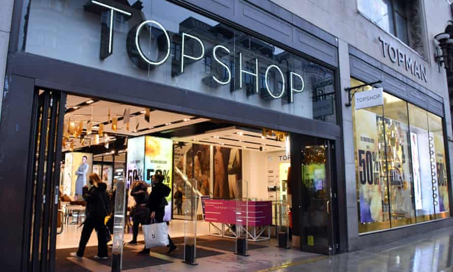 Topshop Administrators Seek Bids Of Up To 200m For Fashion Chain Topshop The Guardian