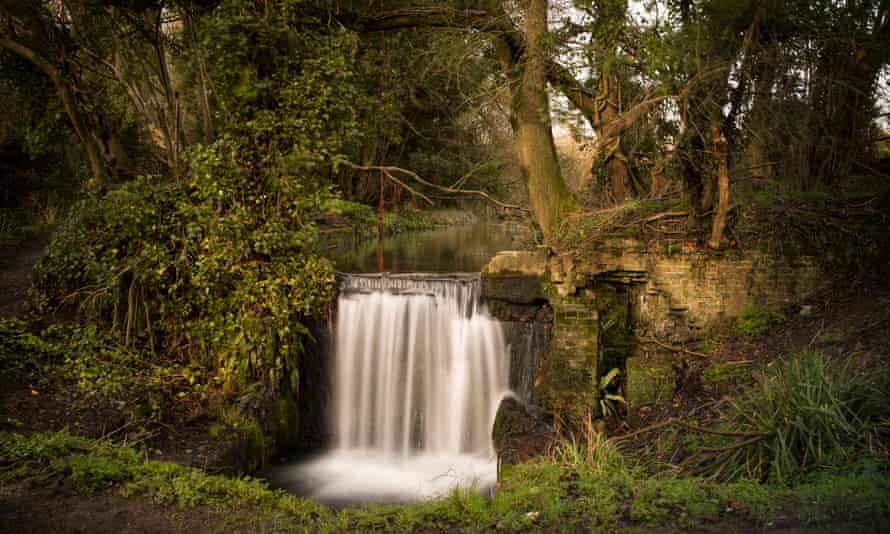 The ruins of Cannon Mill on the River Chess.