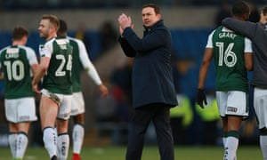Derek Adams has overseen a remarkable recovery this season after promotion from League Two.