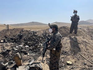 International affairs correspondent Emma Graham-Harrison visited the destroyed CIA base in Afghanistan while reporting on the Taliban's takeover.