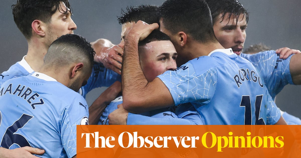 Guardiola has turned City away from pressing and back to passing | Jonathan Wilson