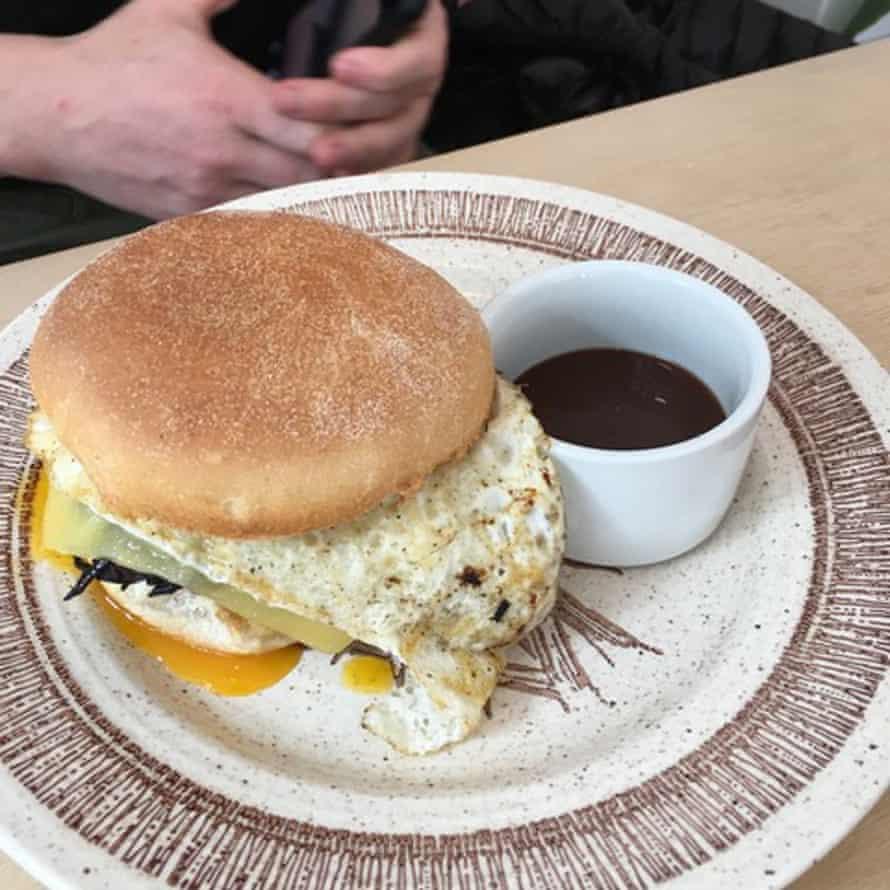 Siop Shop breakfast muffin.