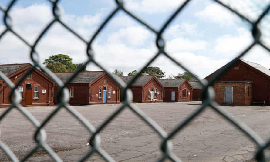 Napier Barracks, Folkstone, 20 June 2021.
