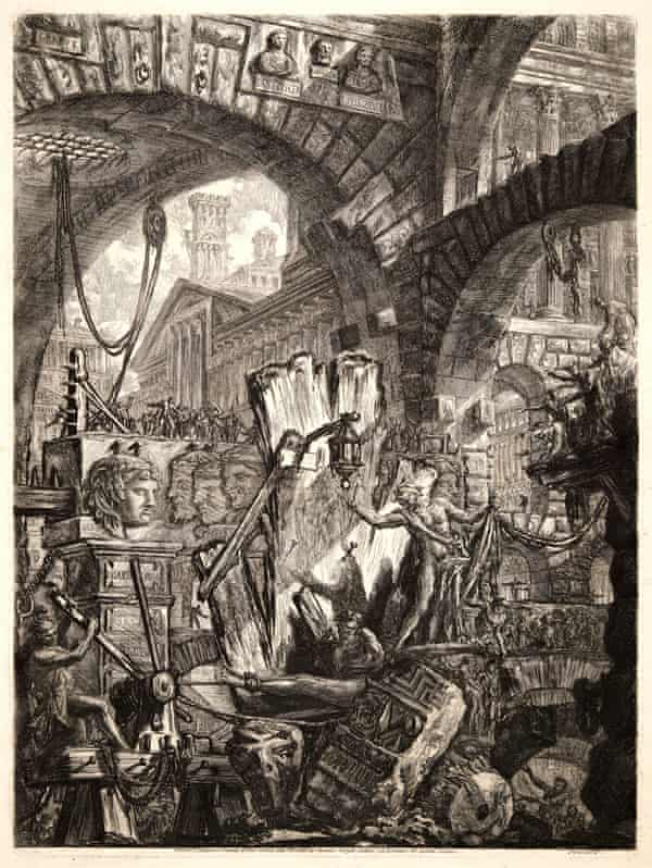 The Man on the Rack, 1761, part of Piranesi's series of fictional prisons.