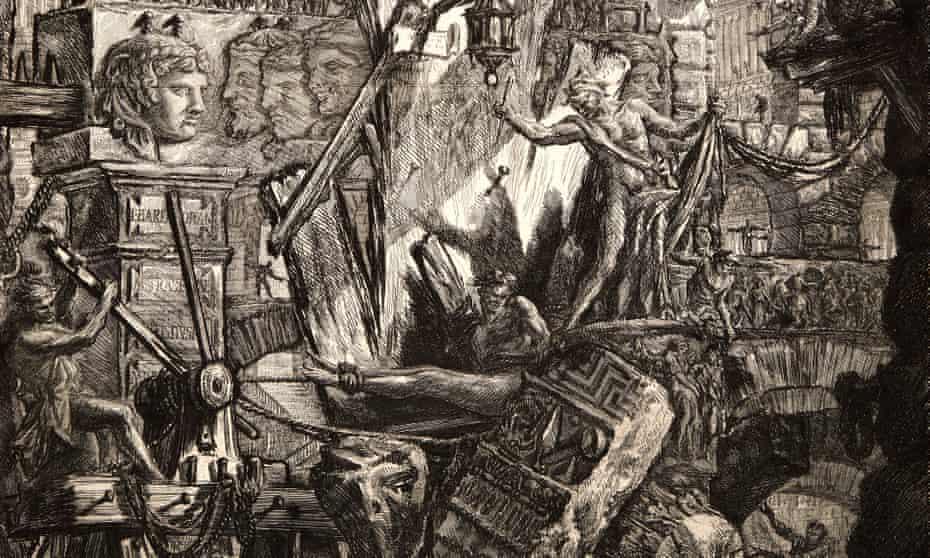 The Man on the Rack, 1761, by Giovanni Battista Piranesi.