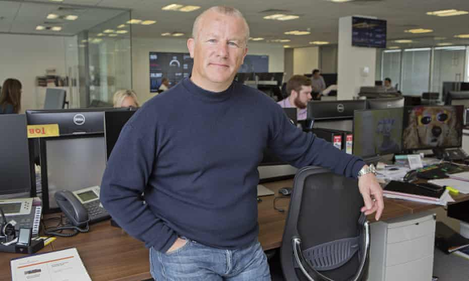Neil Woodford at his firm in Oxford.