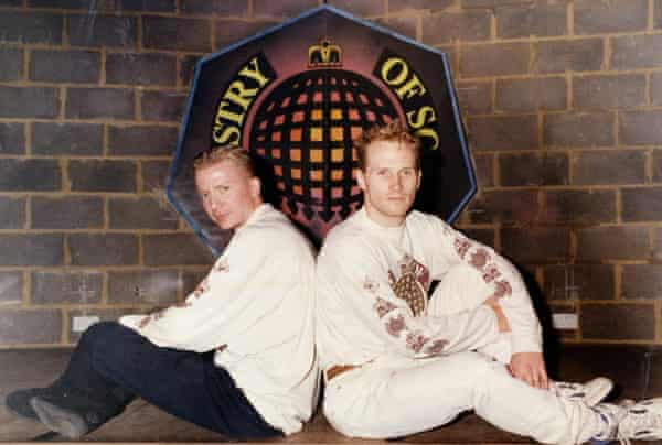 Justin Berkmann and Humphrey Waterhouse at the Ministry of Sound in London.