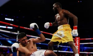 Khan faces an uncertain future in the sport after the 32-year-old suffered a defeat to Crawford in New York.