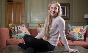 Laura Kenny  photographed at the Charlotte Street Hotel in London