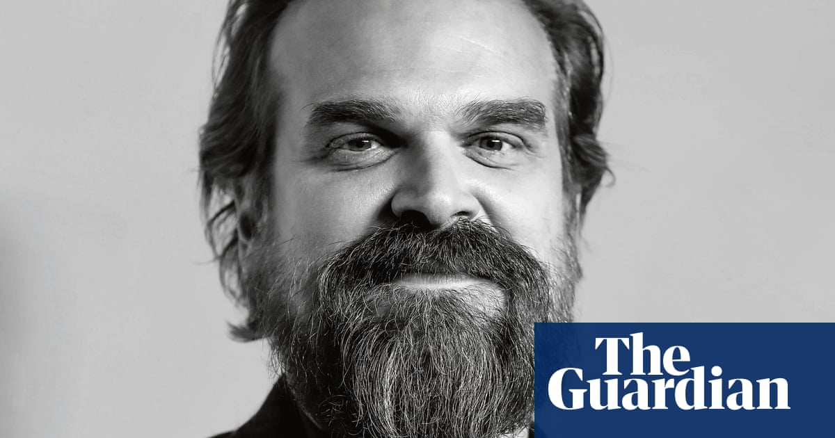 David Harbour: 'I've always been waiting to be 40 years old'