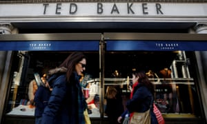 A Ted Baker store on Regent's Street in London